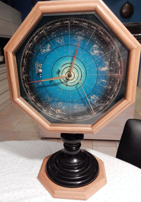 Table clock 'Kepler's Planetarium' - Christiaan v.d. Klaauw - 1995