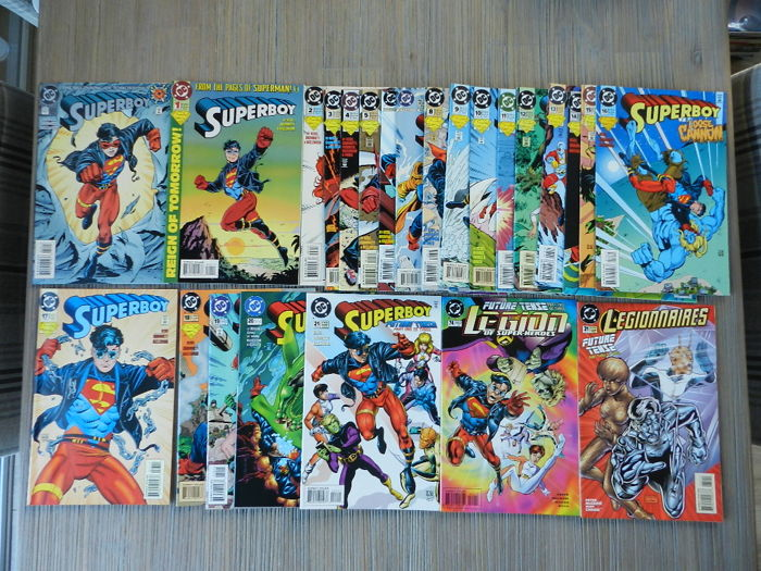 DC Comics - Superboy Vol.3 # 0-74 and # 1,000,000 and more - 76x sc (1994-2000)