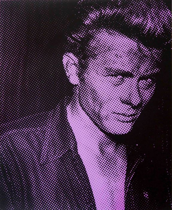 David Studwell - James Dean (Purple)
