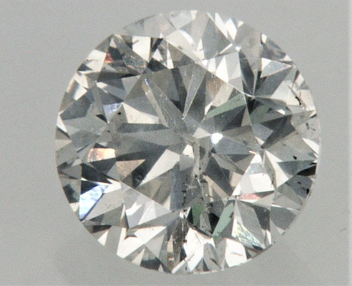 0.82 carat Diamond , F color , SI1 clarity , UNTREATED  , AIG certified + Laser Inscription on Girdle