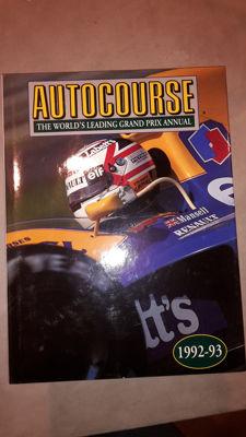 AUTOCOURSE YEARBOOK 1992-1993-1994- 1995