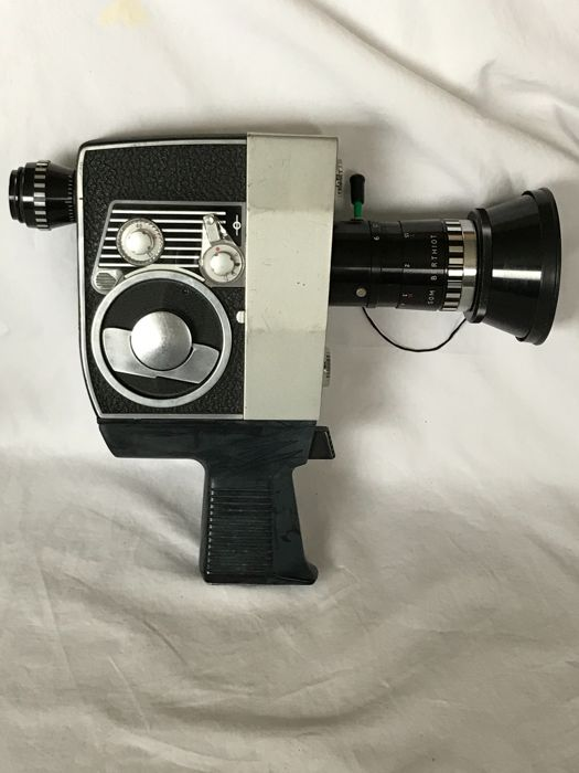 Bolex 625 XL and Bolex Paillard P4 8mm film cameras
