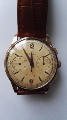 Zenith - Vintage chronograph - Calibre 156 - For men - 1950-1959