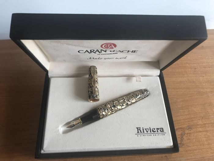 Caran d'Ache Riviera Limited Edition Fountain Pen 249 / 999 worldwide