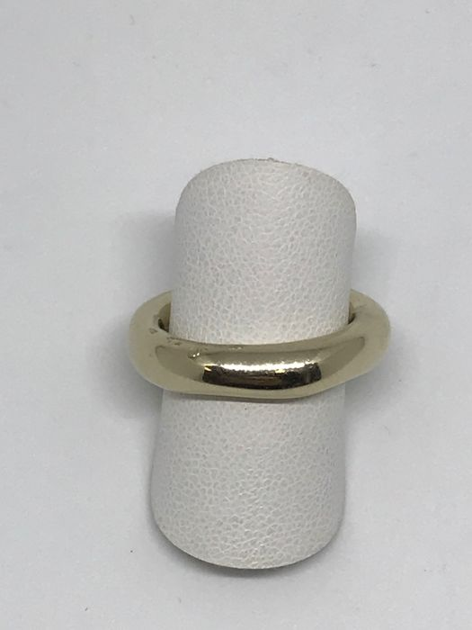 Pomellato - Polished white gold ring - Size 16