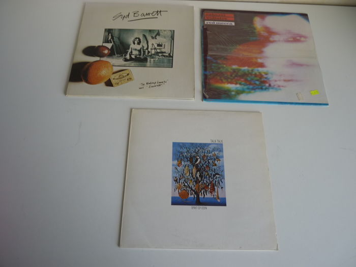 "Psychedelic / Ambient / Industrial Rock lot with 3 albums: Syd Barrett ""the Madcap Laughs"" US press on US Capitol, Cabaret Voltaire ""Red Mecca"" on Rough Trade ( in shrink) , Talk Talk ""Spirit of Eden"" on Parlophone"