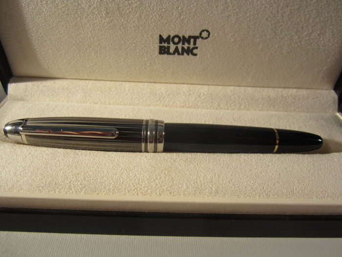 Refined Montblanc 146, grey-black lacquered cap -very good conditions - original box