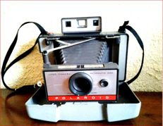 Appareils  Photo Polaroid Land Model 220 Collection Argentique et Instant + Valise + Flash + Accessoires + Manuel