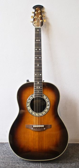 Ovation Legend Model 1617 1 From 1976 Usa Deep Bowl With Pickup
