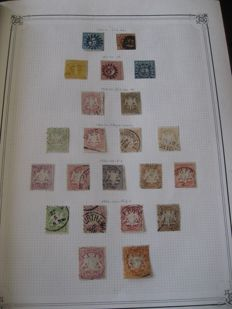 Old German States 1861-1920 - Collection of Stamps.