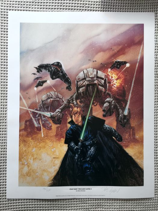 Star Wars - Poster - The Dark Empire II - 1e druk - 1994