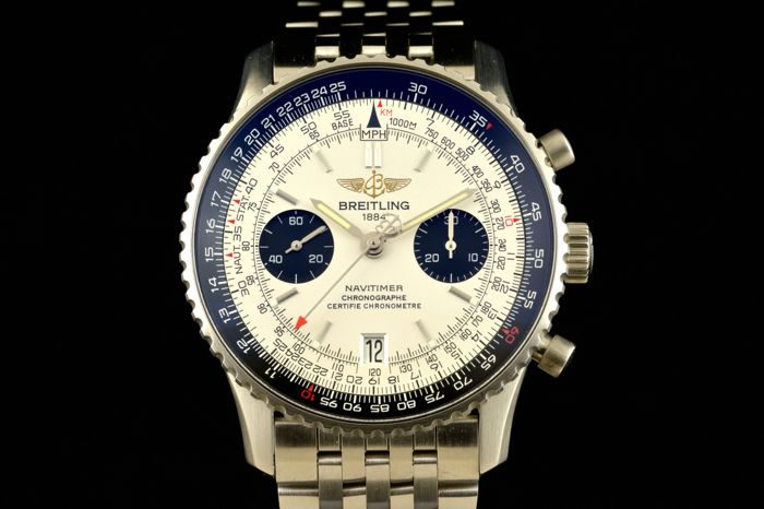 Breitling - Navitimer Limited Edition Chronograph - A23330G05NP - Heren - 2000-2010