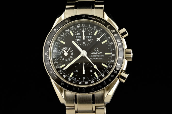 Omega - Speedmaster Black Dial Chronograph Triple Date - Heren - 2000-2010