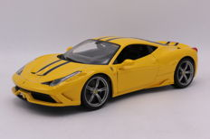 Burago - Schaal 1/18 - Ferrari 458 Speciale - Colour: Yellow