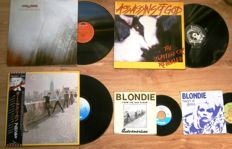 5 (Five) Punk/New Wave Items: 3 LP's and 2 Singles