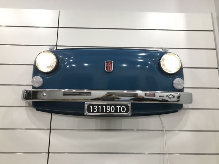Artículo decorativo - Fiat 500 L Frontal Part with Lights Remote Controlled - 2000