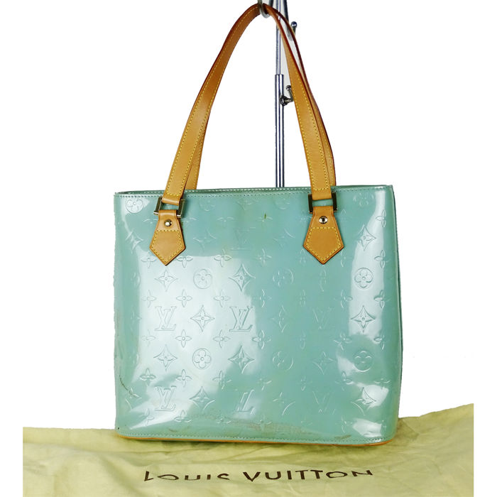 louis vuitton houston vernis mint lackleder handtasche handbag catawiki. Black Bedroom Furniture Sets. Home Design Ideas