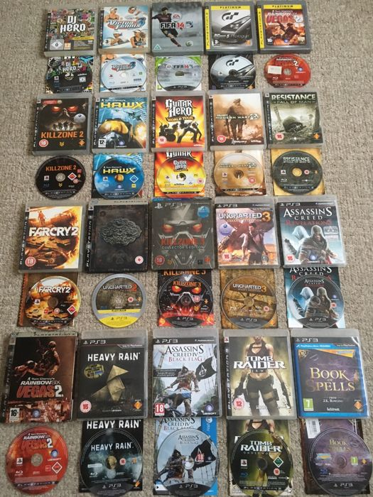 Video Games & Consoles Objective Ps3 Games Bundle