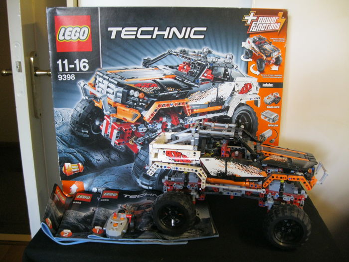 Technic 9398 4 X 4 Crawler Catawiki