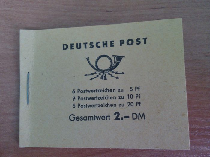 East Germany (DDR) Five year plan Booklet