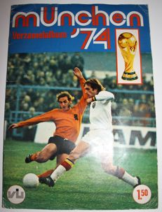 Variant of Panini - Vanderhout - World Cup Munich '74 - Complete album, issue in Dutch language
