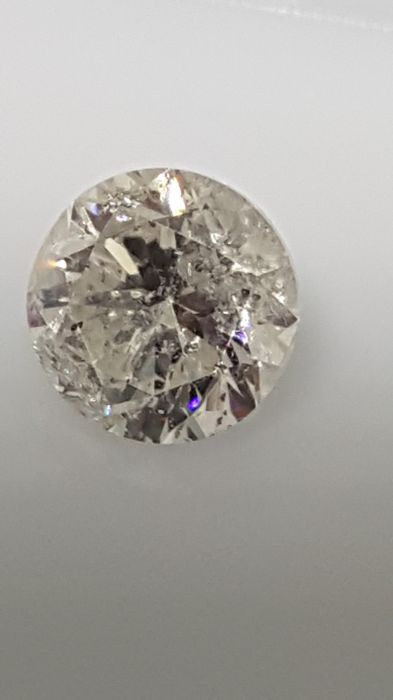 1.00 ct - Round Brilliant - White - E / SI2