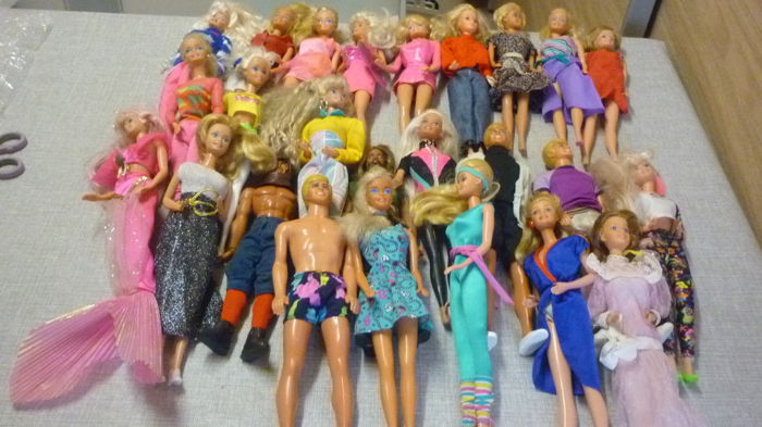 20 maal Barbie, 3 maal Ken en 2 maal Action Man