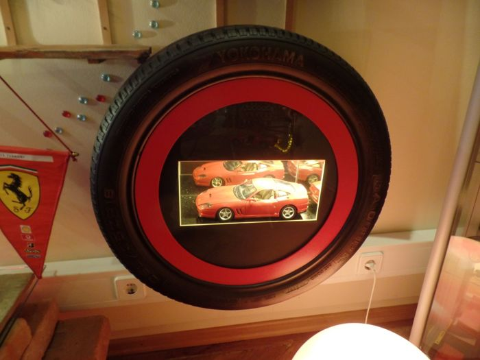 Ferrari - showcase - as a tire