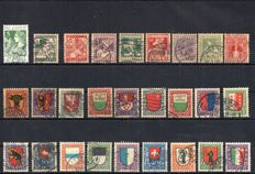 Switzerland 1913/2001 – Pro Juventute complete without blocks