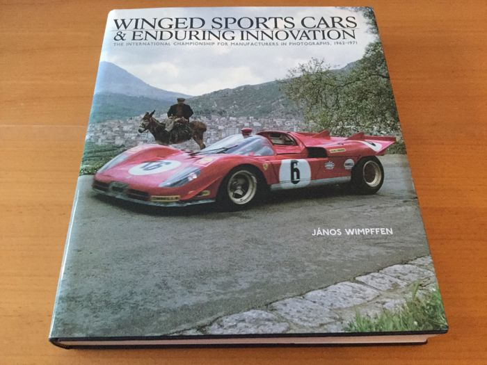 Winged sports cars and Enduring Innovation - book
