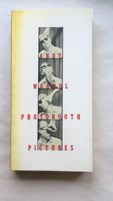 Gary Indiana - Andy Warhol - Photobooth Pictures - 1989
