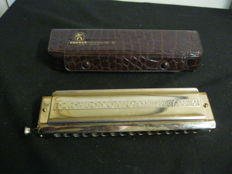 Hohner Harmonica  280 Nichromonica 64 Chromatic German
