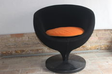 Pierre Guariche voor Meurop - fauteuil, model 'luna'
