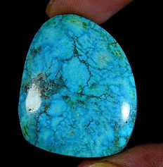 Beautiful Arizona turquoise cabochon 39.50 ct