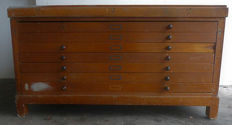 Oak chest of drawers – the Netherlands – ca. 1925