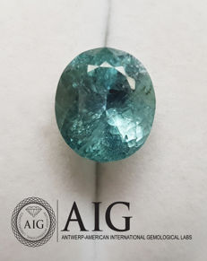 Hiddenite – 17.84 ct – no reserve price