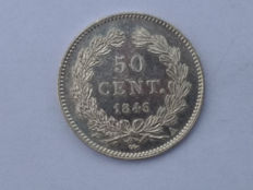 France – 50 centimes 1846 A – Louis Philippe – silver
