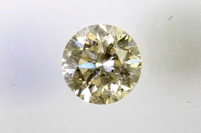 AIG Diamond - 0.24 ct - J , I1 -  * NO RESERVE PRICE *
