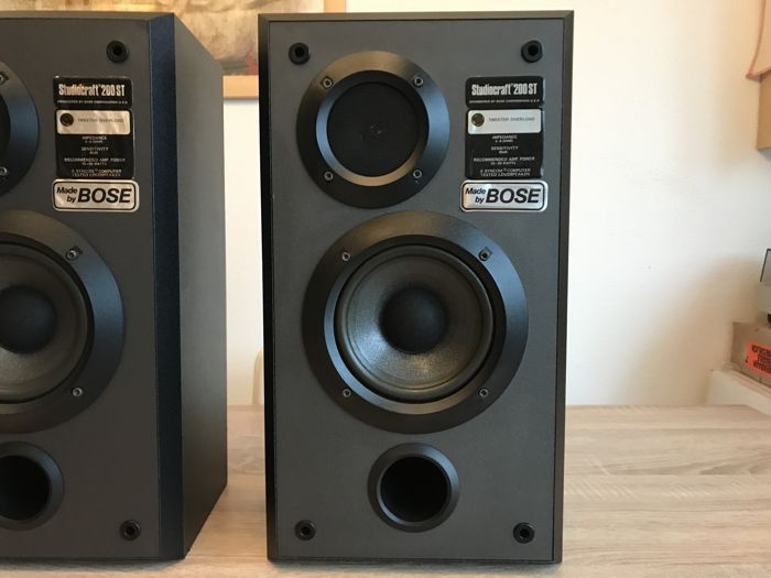 heavy speaker set by studiocraft 200 engineered by bose corporation usa catawiki. Black Bedroom Furniture Sets. Home Design Ideas