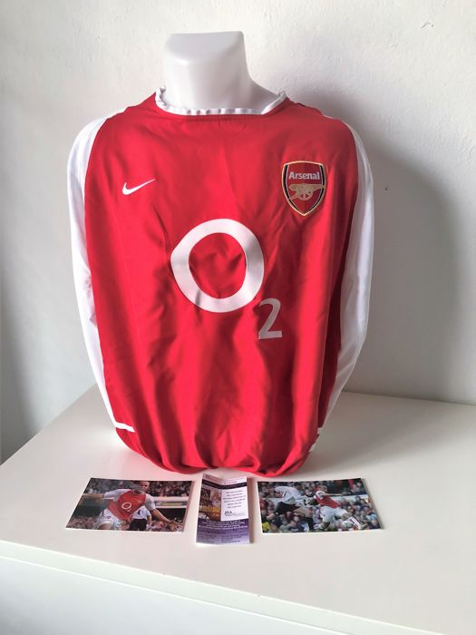Thierry Henry Signed Arsenal F.C. Jersey (JSA COA) NO RP Price !