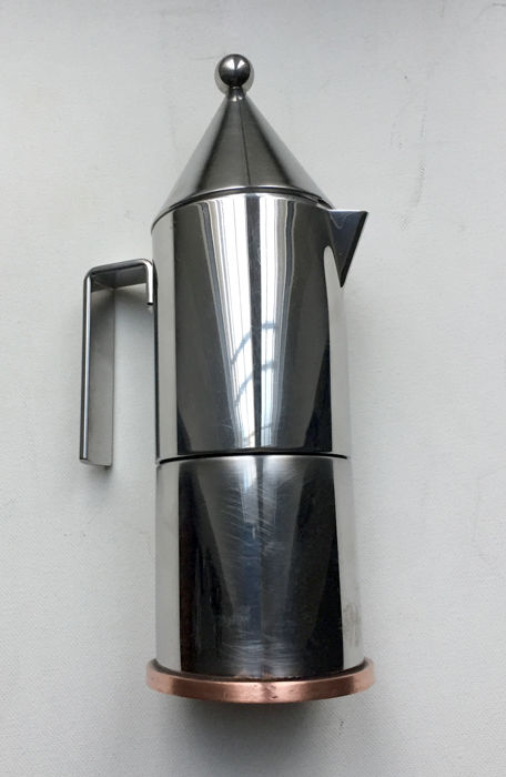 Aldo Rossi For Alessi   La Conica Espresso Coffee Maker