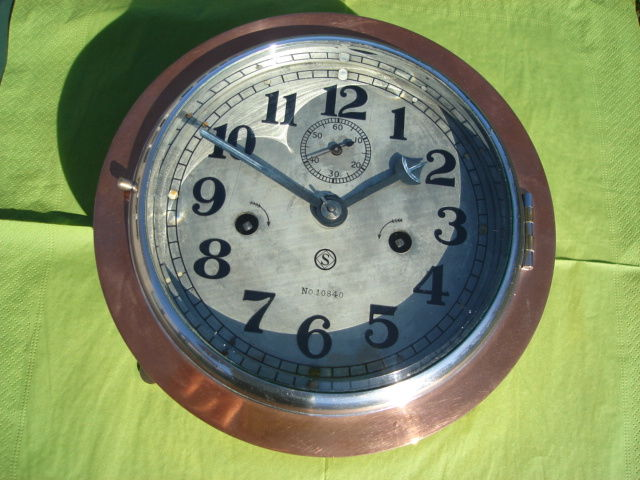 WW2 Japanese military Seikosha ship's clock