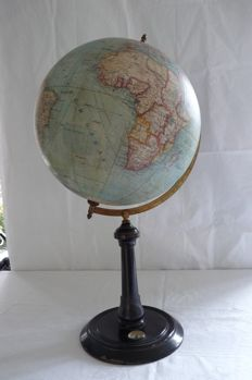 Magnificent table or desk globe - Ludwig Julius Heymann, Germany