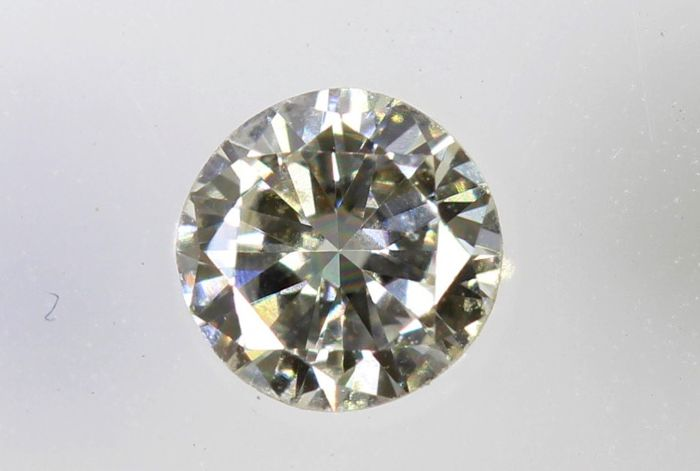 AIG Diamond - 0.13 ct - G, VVS2 -  * NO RESERVE PRICE *