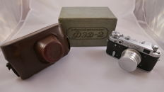 FED 2  With case and box and with a very rare lens  industar 26-m -  LEICA COPY