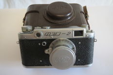 "The very first ""FED-2"".№122594. Prototype of ""Leica II"". (Rarity)"