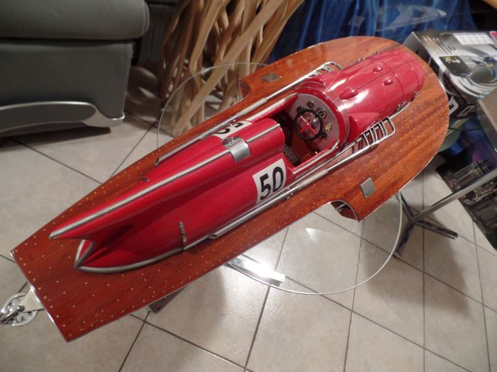 Ferrari - racing boat - model - Catawiki