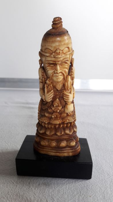Old Keris Hilt Special Image Carved In Bone Indonesia Catawiki