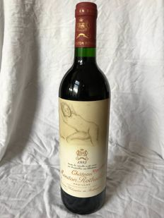 1993 Château Mouton Rothschild, Pauillac 1er Grand Cru, 1 bottle