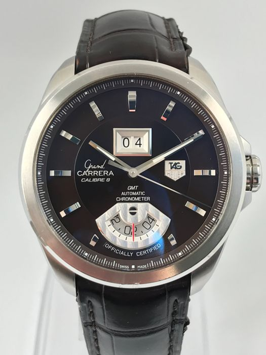 TAG Heuer - Grand Carrera GMT - Automatic Calibre 8 - 13635 - Heren - 2000-2010